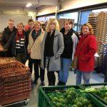 PvdA Rooie Vrouwen werkbezoek Voedselbank